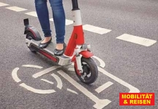 Unfall mit E-Scooter-Symbol