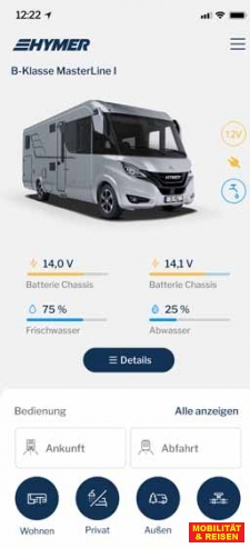 Smartes (Mobile-)Home-Hymer